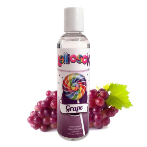 Lollicock 4 Oz. Water-based Flavored Lubricant - Grape - CN-14-0519-51