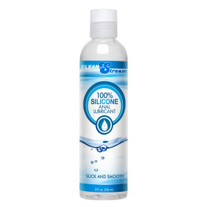 Cleanstream 100 Percent Silicone Anal Lubricant - 8 Oz