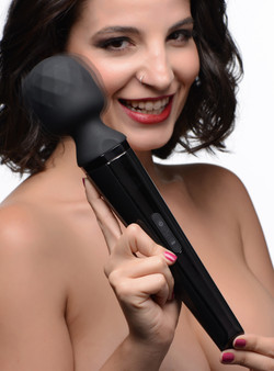 Diamond Head 24x Rechargeable Silicone Wand Massager