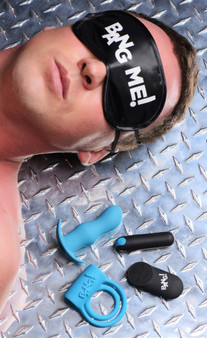 Duo Blast Remote Control Cock Ring And Butt Plug Vibe Kit