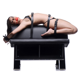 Ultimate Dungeon Essentials Kit With Bondage Horse - AE442