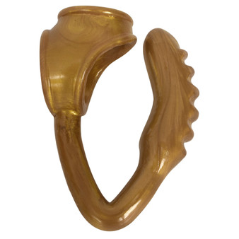The Duke Cock And Ball Ring With Anal Plug -gold - CN-16-0644-26
