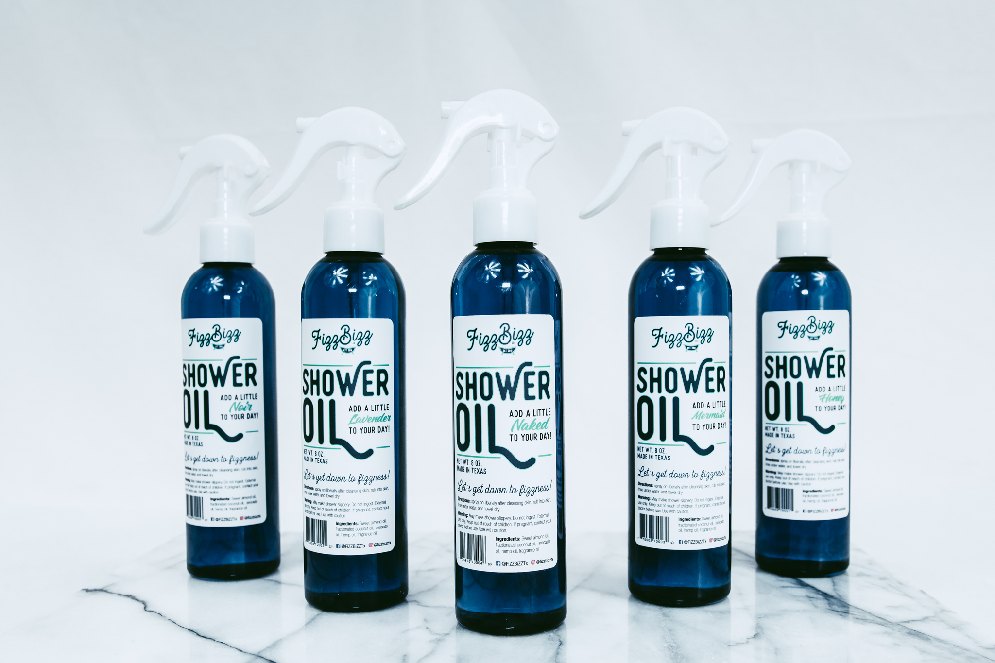Shower Oils