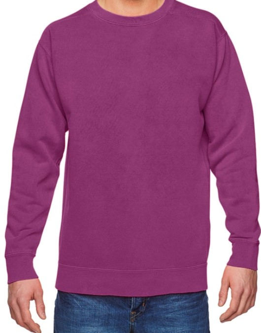 Boysenberry Comfort Color Sweater