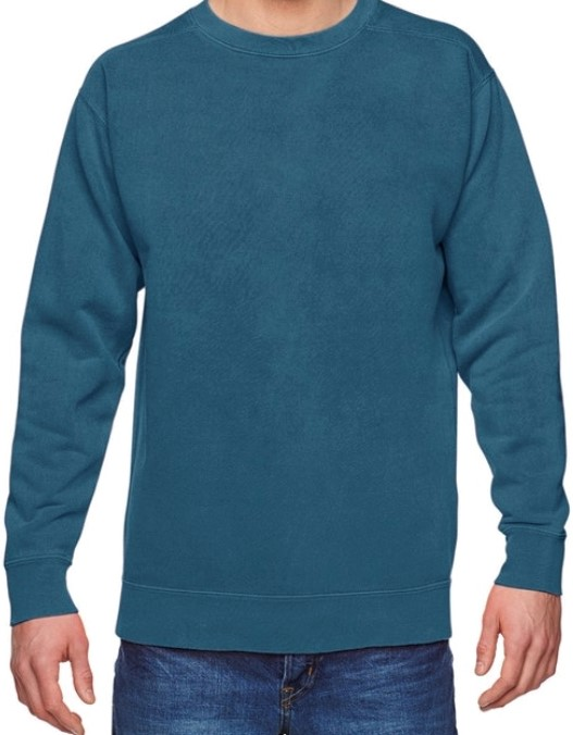Topaz Blue Comfort Color Sweater