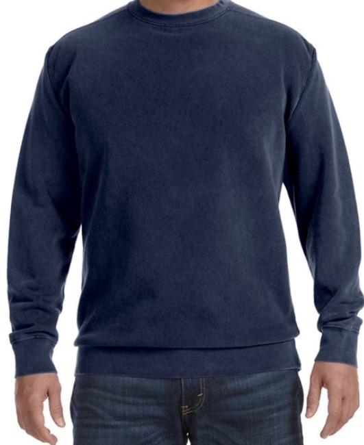 True Navy Comfort Color Sweater
