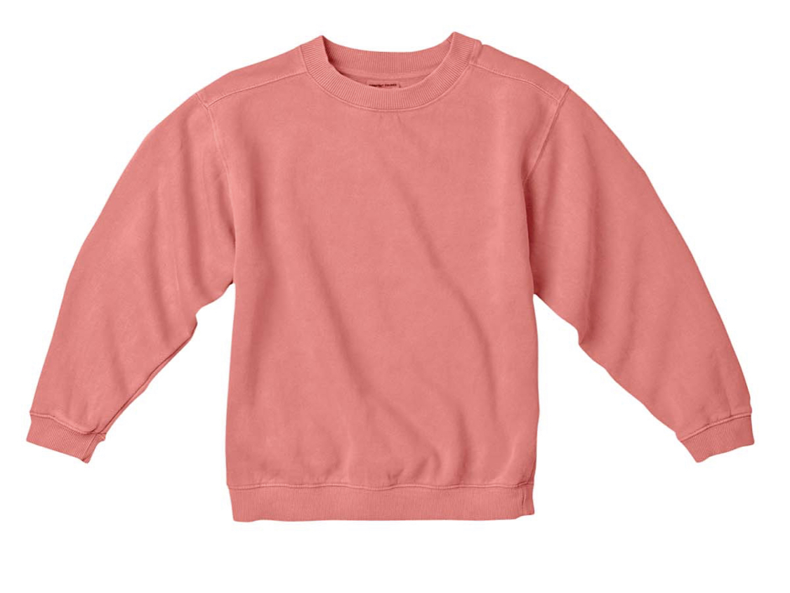 Watermelon Comfort Color Sweater