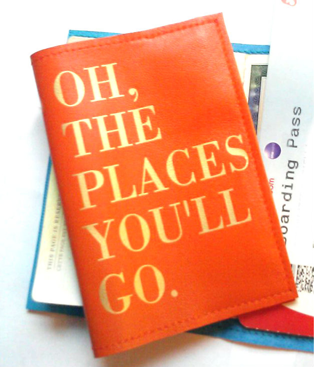 Oh The Places Youll Go. Personalized Passport Cover