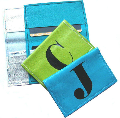Men's Personalized Metro Card Holder & Credit Card Sleeve