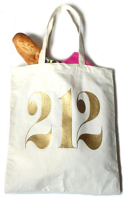 Personalized Are Code Tote Bag, Zip Code, Postcode