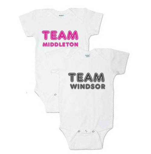 Family Name Personalized Baby Onesies