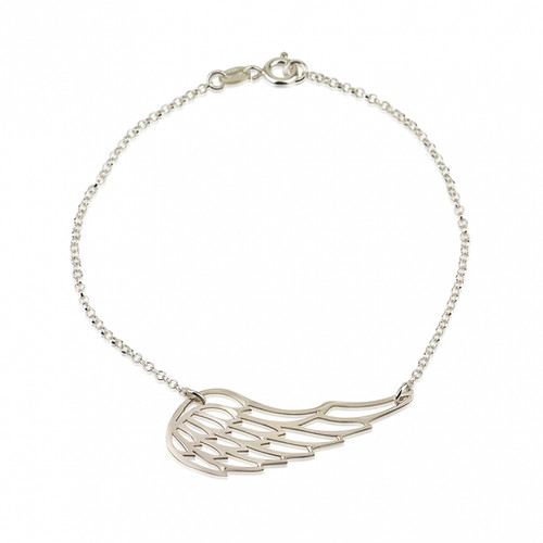 Angel's Wing Bracelet-Sterling Silver