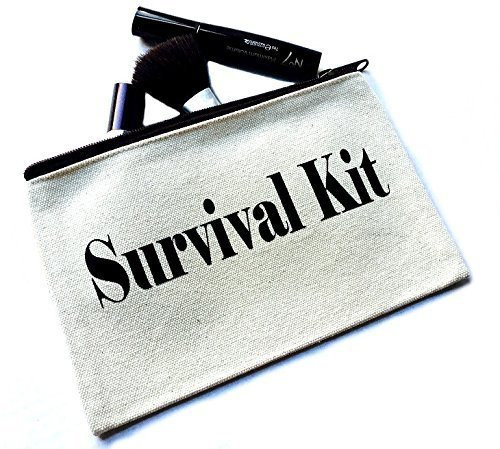 Survival Kit Canvas Make Up Bag