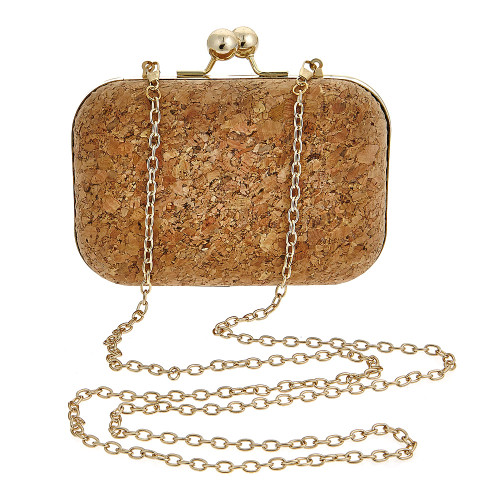 Kylie Cork Clutch
