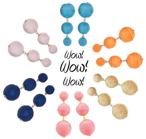 Wellington Drop Earrings
