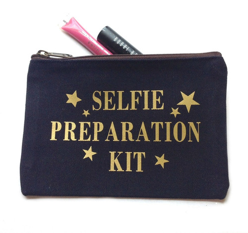 Selfie Preparation Kit Make Up Bag - Large