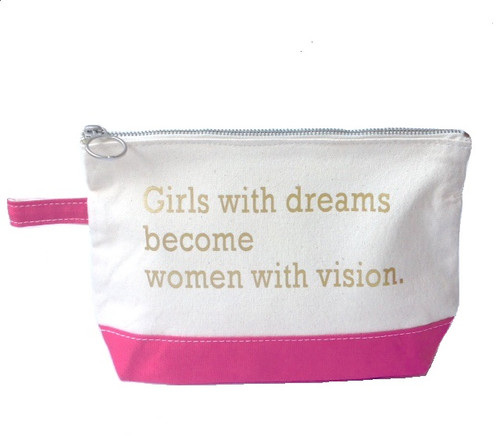 Canvas Bag - Girls With Dreams Become Women With Vision