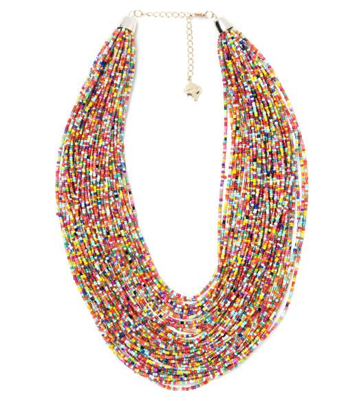 Confetti Beaded Necklace