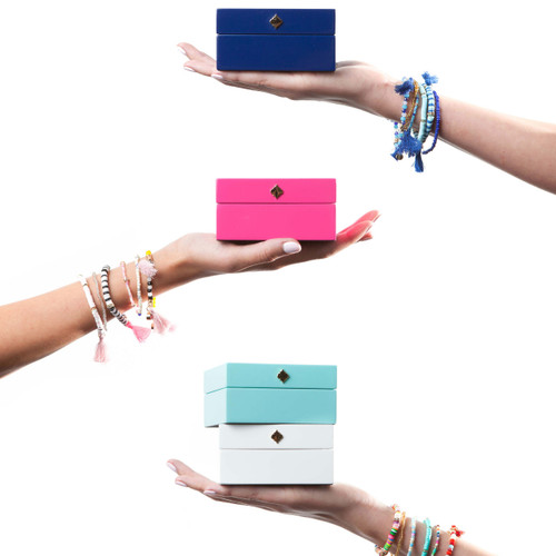 Nina Layered Beaded Tassel Bracelets Set