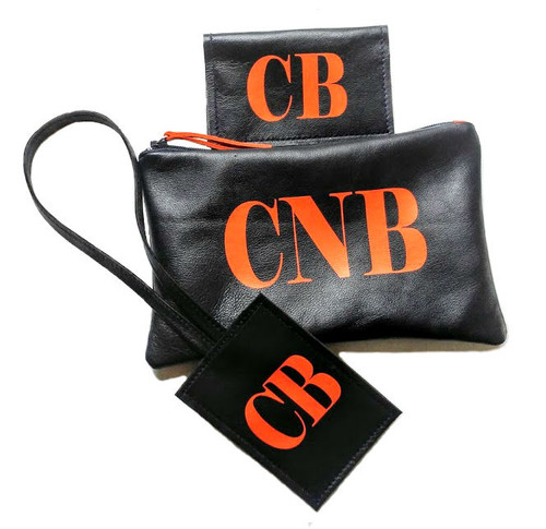 Monogrammed Travel Accessories Set