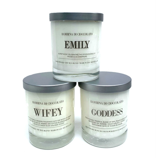 Personalized Name Scented Candle