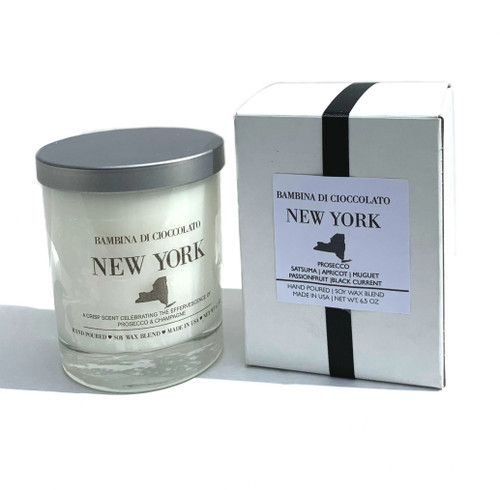 Personalized State & Name Scented Candle | Bambina di Cioccolato