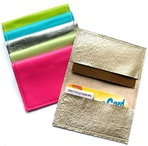 Metro Straight Edge Business Card Holder, Metro Straight Edge Credit Card Sleeve, Metro Oyster Card Holder