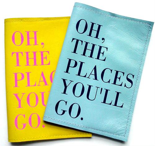 Dr Seuss Passport Cover, Witty Passport Cover, Custom Leather Passport Cover, Funny Leather Passport Holder,