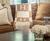 Personalized Initials & Blocks Monogram Blanket - Cashmere, Merino or Acrylic