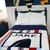 Personalized Birthday Football Blanket -Cashmere, Merino & Acrylic