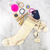 Fiona Double Tassel Keychain Stocking Stuffer