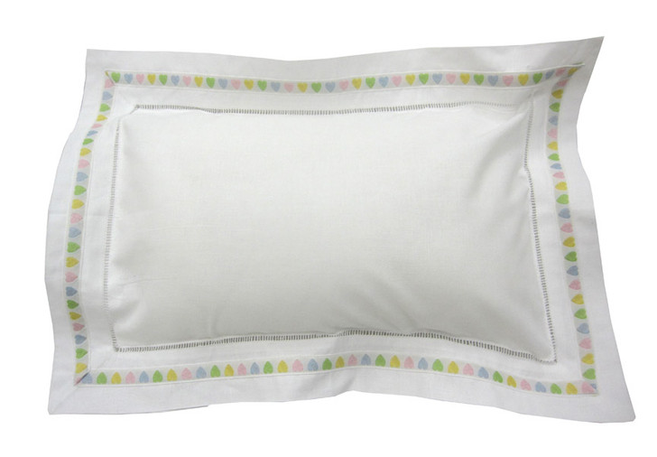 Baby Personalized Pillow | Pastel Hearts
