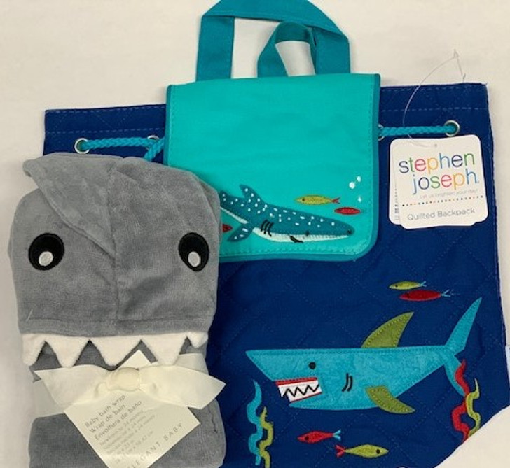 Personalized Baby Gift - Shark Backpack