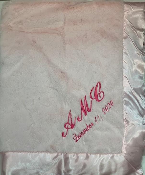 Bearington Baby Monogrammed Blanket