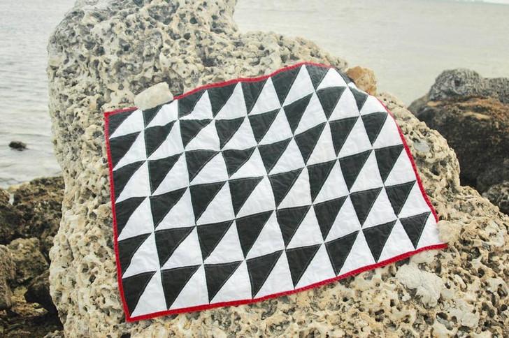 Classic Square Quilt - Custom Cotton Baby Quilt