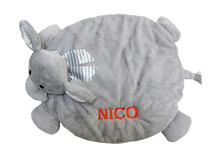 Lil Spout Elephant Belly Blanket