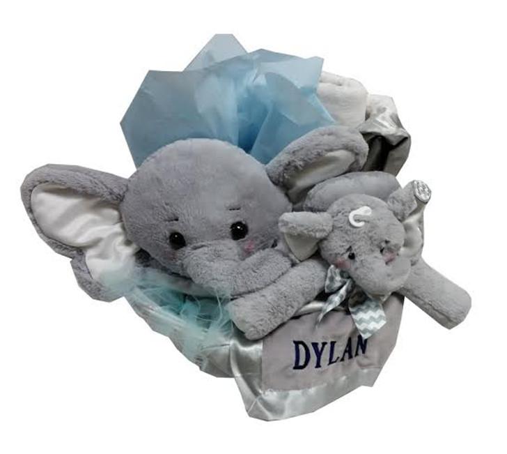 Belly blanket blanket gift basket