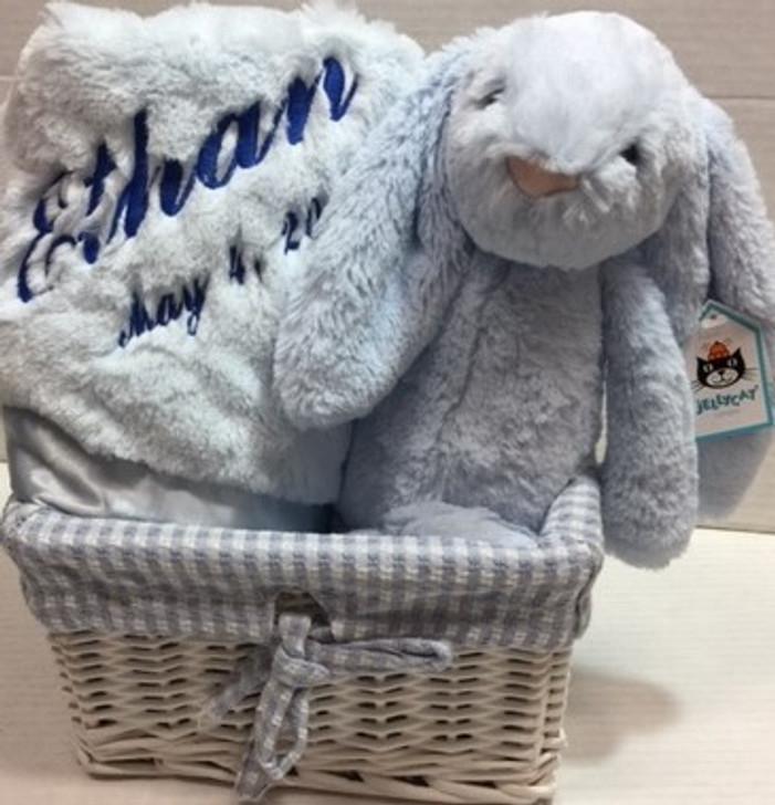 blue Bunny Basket