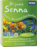 Now Foods Organic Senna  24 Tea Bags | 733739842367