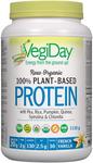 VegiDay Raw Organic 100% Plant-Based Protein French Vanilla   628235330183