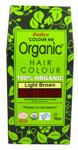 Radico Organic Hair Colour Powder Light Brown | 8902670020116