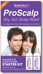 Herbal Glo ProScalp Dry, Itch Scalp Relief Shampoo & Conditioner Starter Kit   063151800295