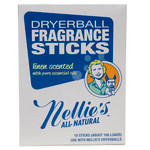 Nellie's All Natural Dryerball Fragrance Sticks Linen Scented |