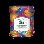 MegaFood Vitamin D3 1000 IU Wellness Gummies Mixed Fruit 70 Gummies | 051494902165