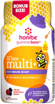 Honibe GummieBees Lil' bee Multi + Kid's Immune Boost - Natural mixed Berry flavour 70 Gummies   663448001475