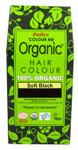 Radico Organic Hair Colour Powder Soft Black  