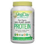 VegiDay Raw Organic 100% Plant-Based Protein Unflavoured 840g | 628235330213