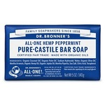 Dr. Bronner's Pure-Castile Bar Soap Peppermint 140g   018787785058
