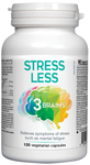 3 Brains Stress Less 120 Vcaps | 628235330572