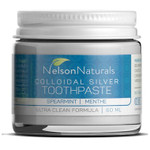 Nelson Naturals Colloidal Silver Toothpaste Spearmint  | 627843433002